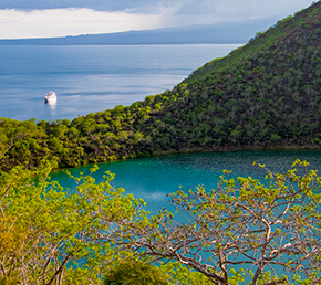 Tagus Cove Archipel ATC Cruises Galapagos Islands Ecuador