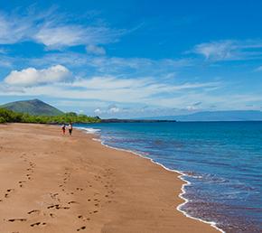 Espumilla beach ATC Cruises Galapagos Islands Ecuador