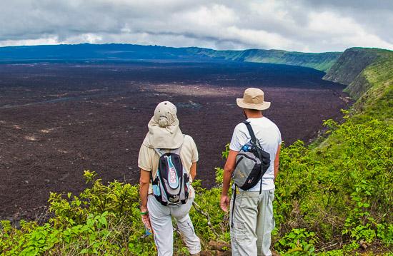 la mejor vista de las islas Galápagos