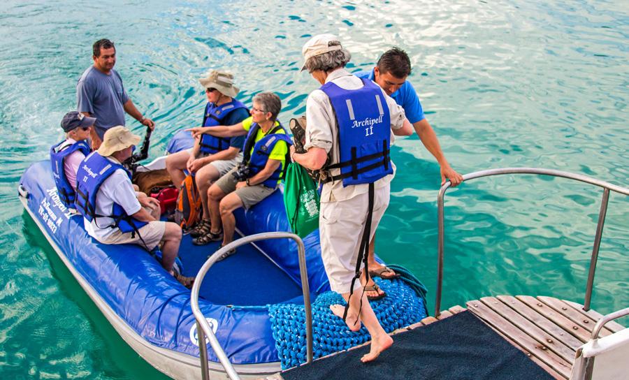 Catamaran Archipel ATC Cruises Galapagos Islands Ecuador